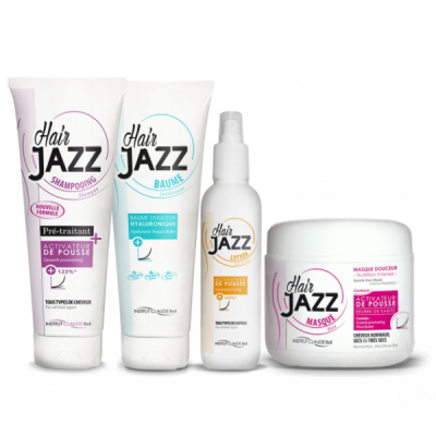 HAIR JAZZ Hair Growth Set With Hyaluronic Conditioner